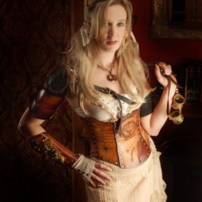 Airship Pirate Map Corset by: http://www.bruteforceleather.com/