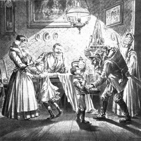 """St. Nicholas and His """"Damned"""" Friends: Alpine Winter Traditions"""