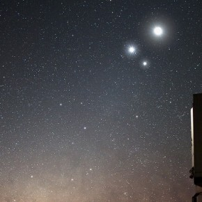Venus and Jupiter: A Planetary Conjunction in March 2012