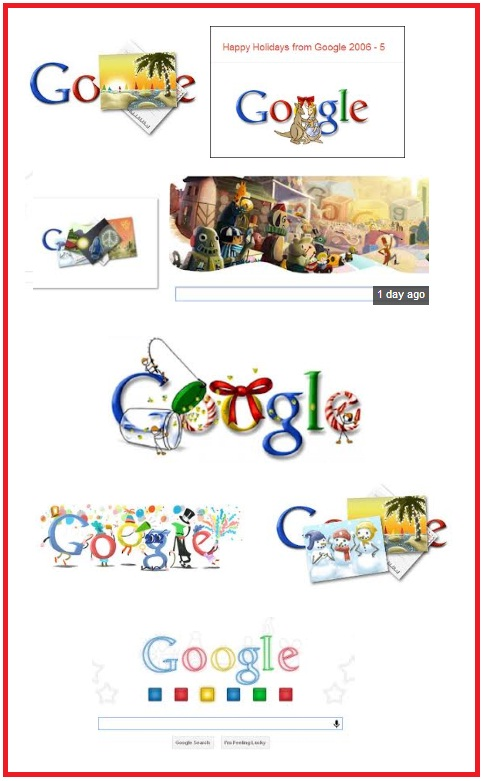 Google Holiday Doodles