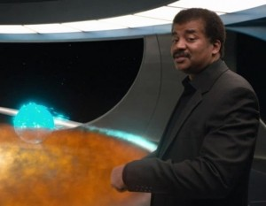 "NDT as narrator of the new ""Cosmos"""